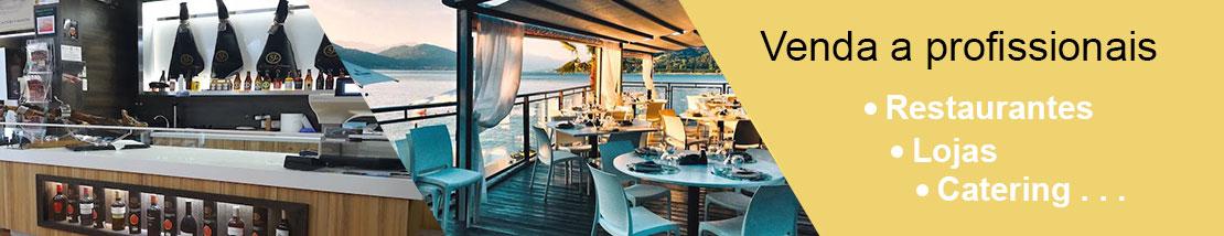 Vendas a profissionais: restaurantes, lojas especializadas, catering...